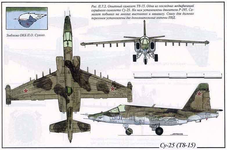 3. схема окраски Су-25