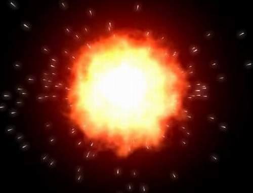 Particle sprays и добавил к ним эффект glow