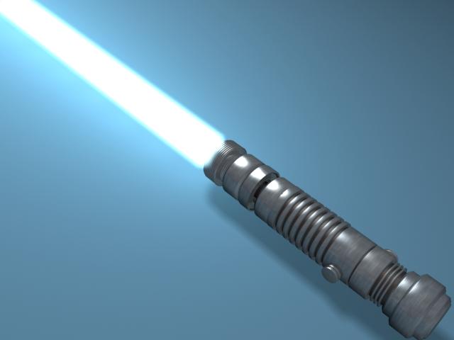 Текстурирование.  3D Studio Max.  Эффект свечения на примере создания лазерного меча.  17.02.2008. Переходов...
