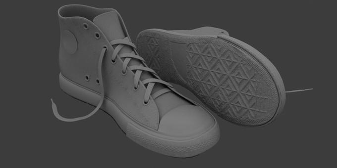 Обувь в 3d max, 3dsmax, моделирование и анимация, форум по компьютерной графике и анимации