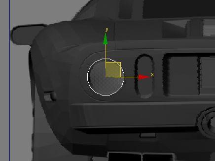 Моделирование Ford GT