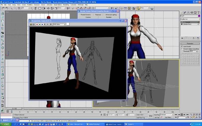 Как создать студию в 3d max - Videoshema