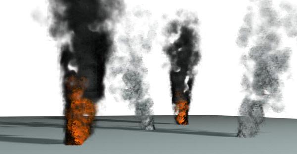 3d max как сделать дым