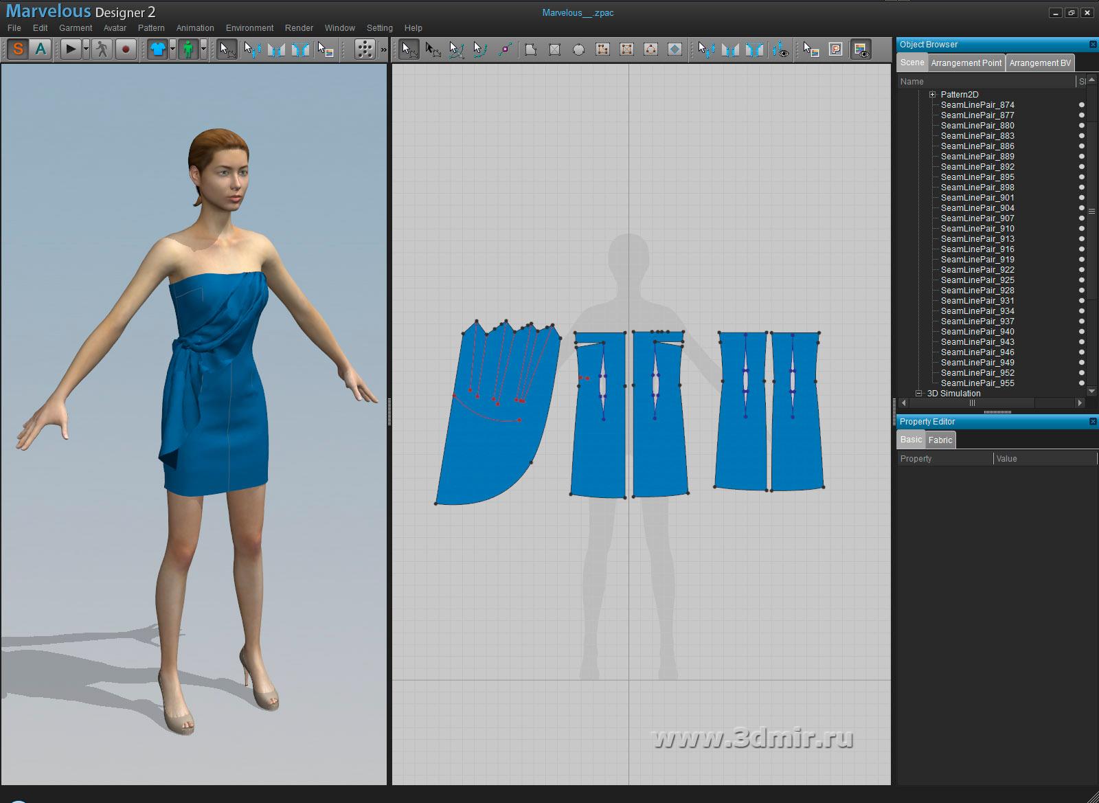 Marvelous designer clo3d 2011 pro + crack скачать бесплатно.