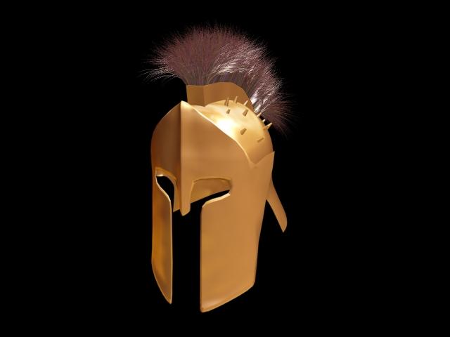 спартанского шлема