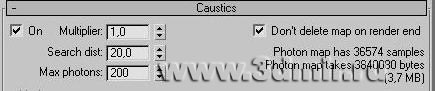 Caustics в VRay: http://www.3dmir.ru/s_tutor/tutor/299.html