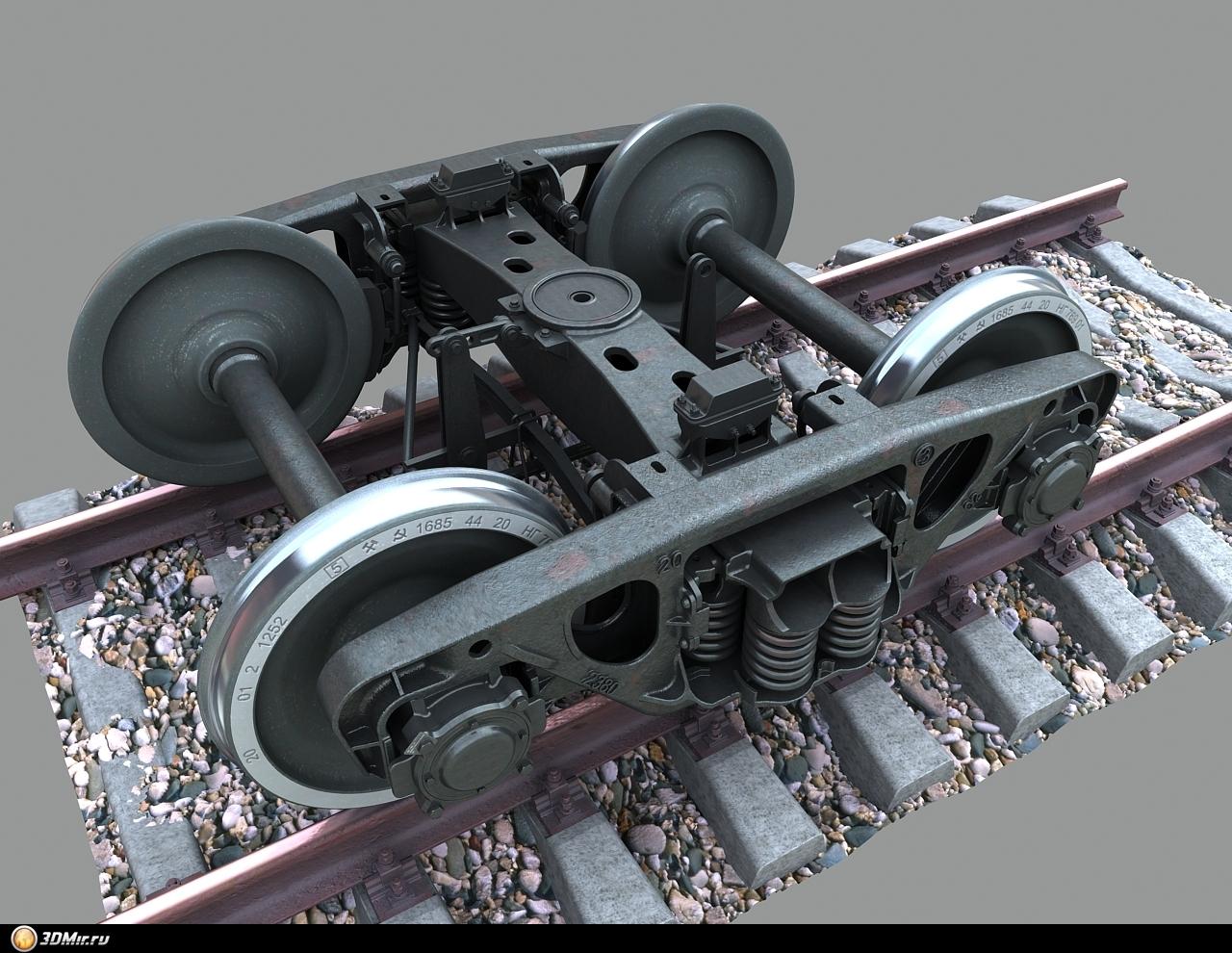Колёсные пары для моделей своими руками