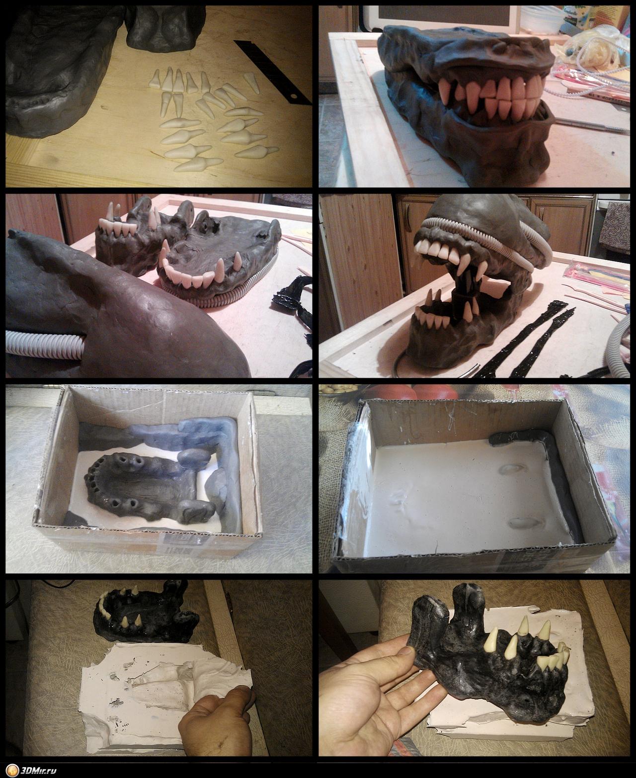 Изготовление силикона для форм своими руками 72