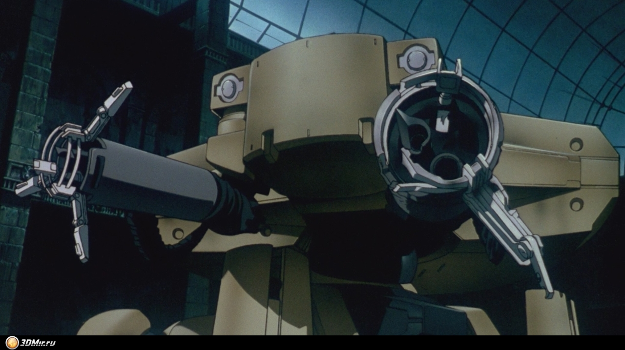 Ghost In The Shell 1995 Tank