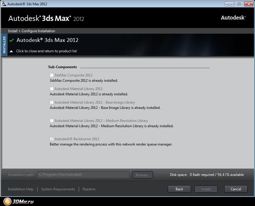 Ответы@Mail.Ru: Как активировать 3ds max 9?