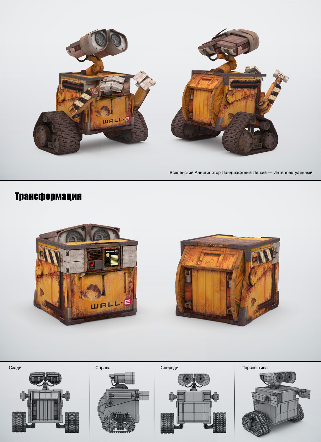 Робот Валл-И / Поиск по тегам / Самоделка. net - Сделай