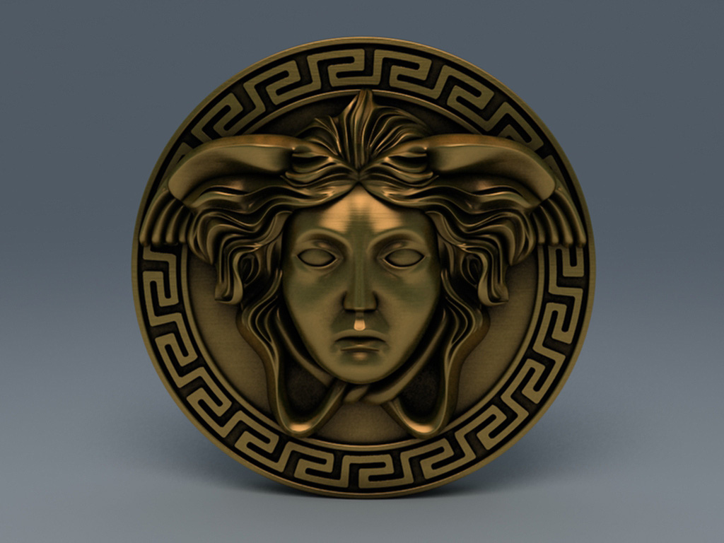 versace логотип:
