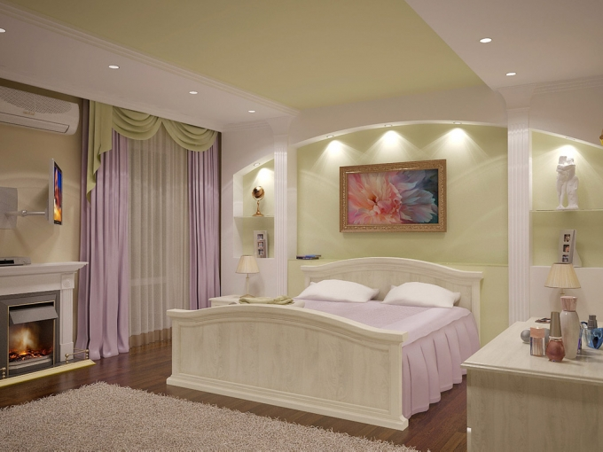 ремонт спальни дизайн фото